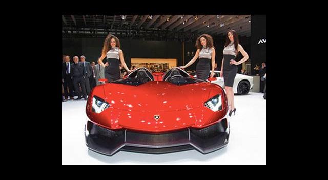 Lamborghini'nin Yeni Canavarı Aventador J