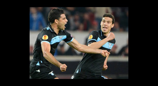 Lazio, Stuttgart' Acımadı