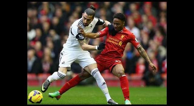 Enfes maç Liverpool'un