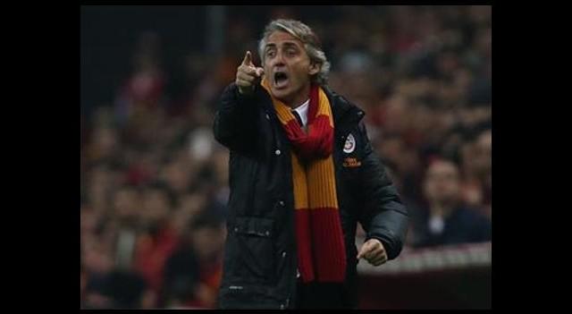 Mancini maç sonu şaşırttı