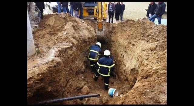 Manisa'da göçük: 1 işçi öldü