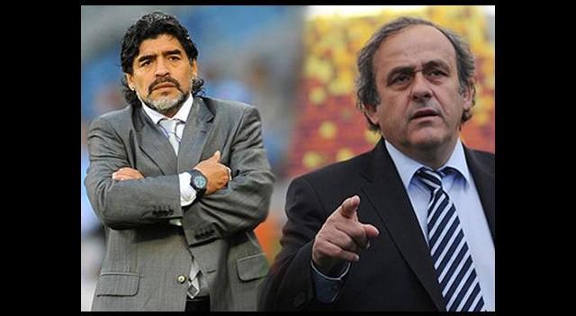 Platini ve Maradona'nın Favorisi Kim?