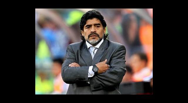 Maradona'dan Messi'ye Övgü