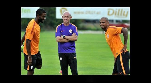 Galatasaray'da beklenen isim kampa katıldı