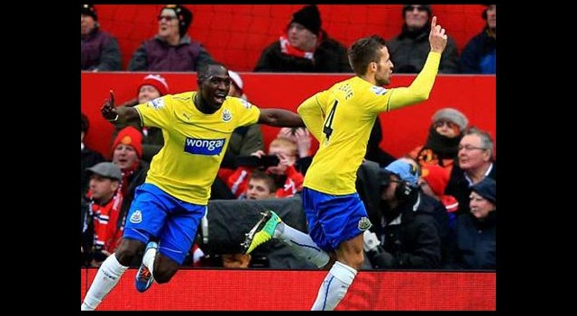 United'a Bir Darbe de Newcastle'dan