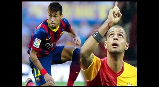 Neymar, Felipe Melo'yu kurtardı