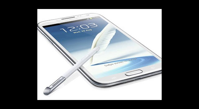 Galaxy Note'a Plastik OLED Ekran