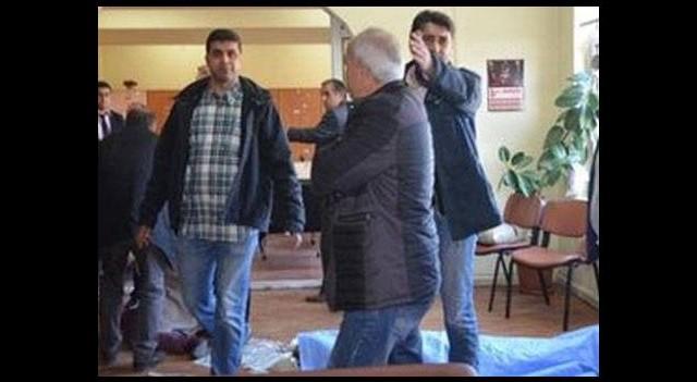Öğretmenler odasında ölüm