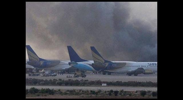 Havalimanına kanlı saldırı