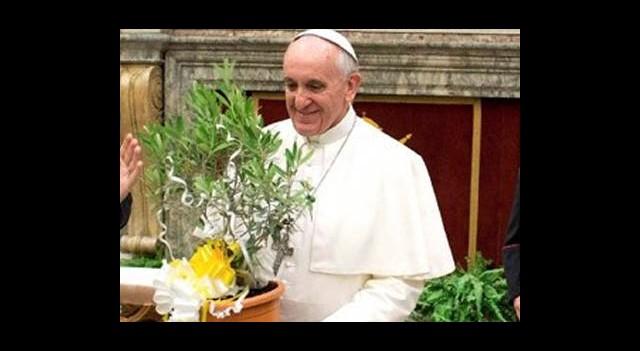Papa'nın Konukları Messi ve Buffon!