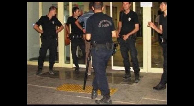 Hastanede silahlı saldırı dehşeti