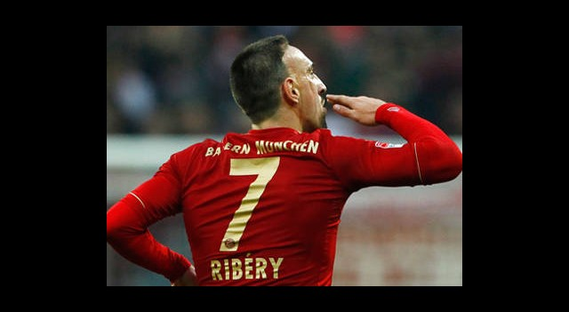 Franck Ribery Ödülü Dert Etmiyor