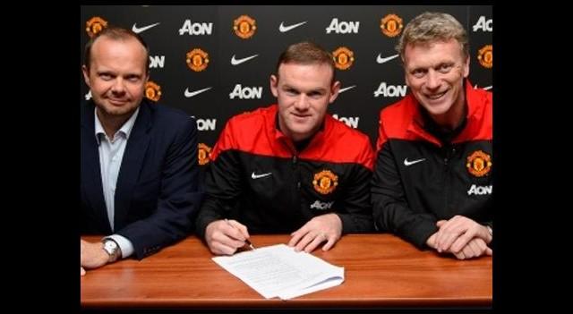 Rooney'den rekor anlaşma!