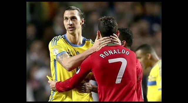 Ibrahimovic Ronaldo'ya öyle bir tweet attı ki...