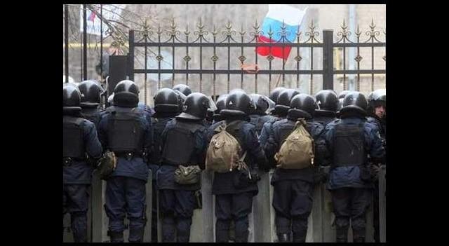 Ruslar o binayı yeniden ele geçirdi