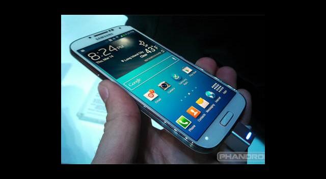 Samsung Galaxy S4'ün Zorlu Sınavı