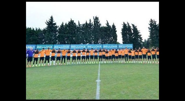 Galatasaray'dan saygı duruşu