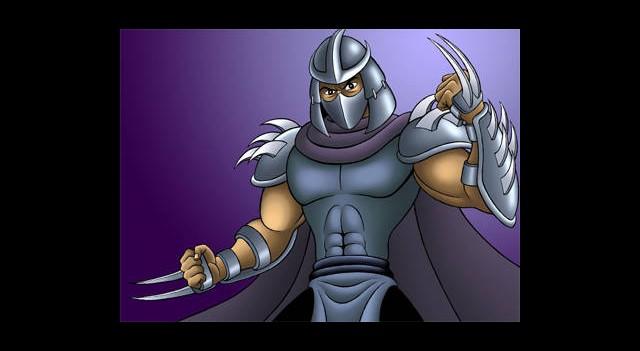 Shredder Rolü Onun!