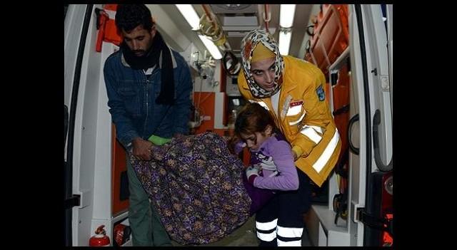 8 kişilik Suriyeli Aile Donmak Üzereyken Bulundu