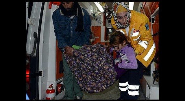 Suriyeli Aile Donmak Üzereyken Bulundu