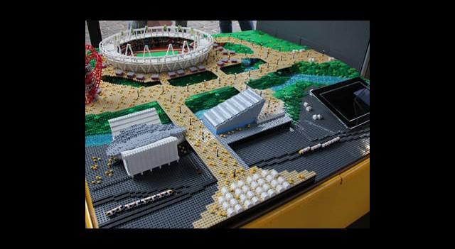 LEGO'dan Olimpiyat Stadı!