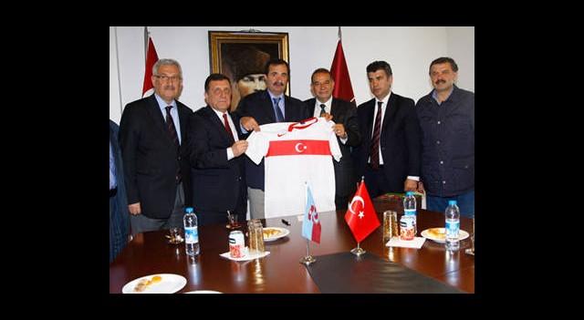 TFF'den Trabzonspor'a Ziyaret