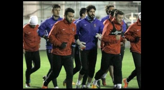 Trabzon gol çalışıyor