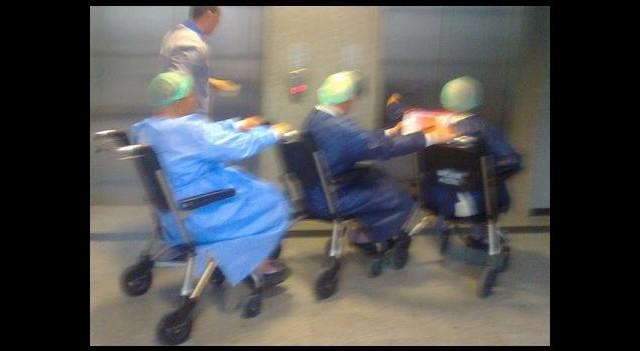 Hastanede Skandal Görüntüler!