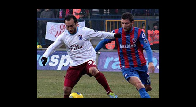 Trabzonspor 7 Eksikle Karabük'e Gitti