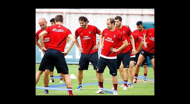 Trabzonspor'da Çalışmalar sürüyor
