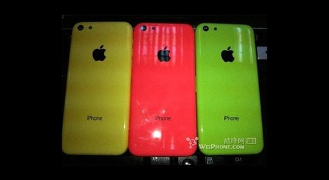 Ucuz iPhone'un Diğer Renkleri Ortaya Çıktı