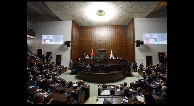 AK Parti'liler Meclis'te Bir Araya Geldi