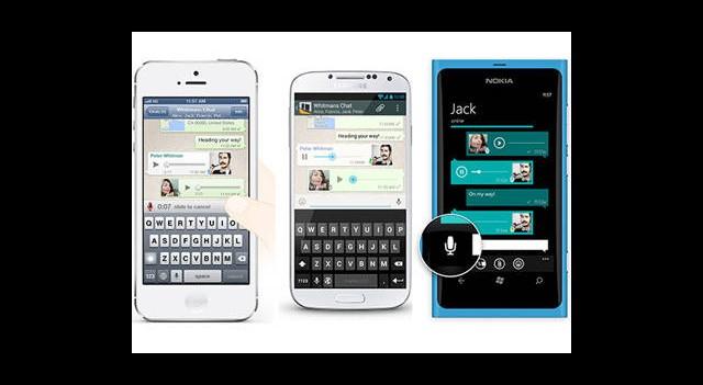 WhatsApp'ta Tek Tuşla Sesli Mesaj Özelliği Eklendi