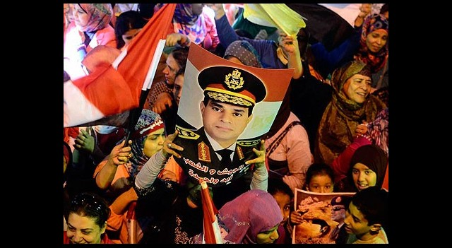 Mısır'da Sisi için İmza Kampanyası