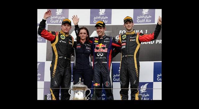 Bahreyn'de Vettel Rüzgarı