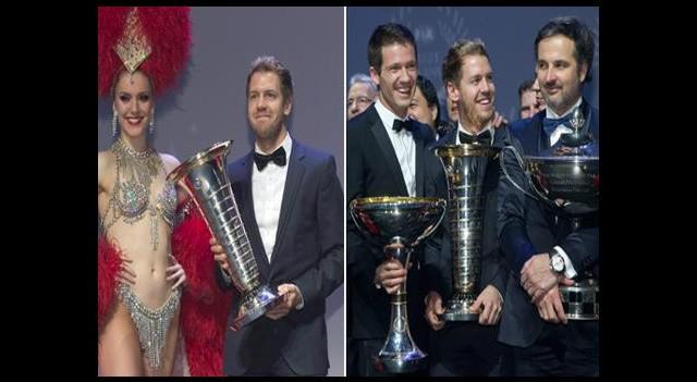 Bu Onur Vettel'in!