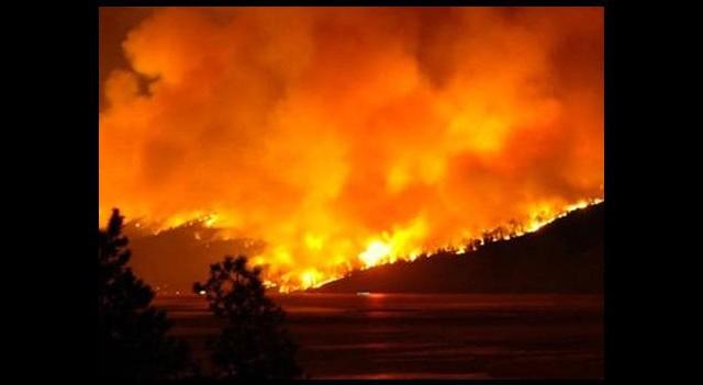 Son 64 yılın en büyük orman yangını
