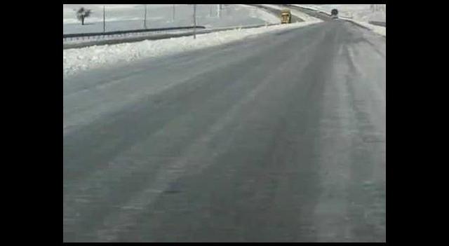 Ankara'daki O Yol Daha İlk Karda...