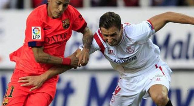 Barcelona'ya Sevilla'dan şok!