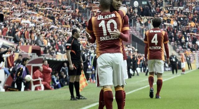 Galatasaray'ı sırtlayan isimler