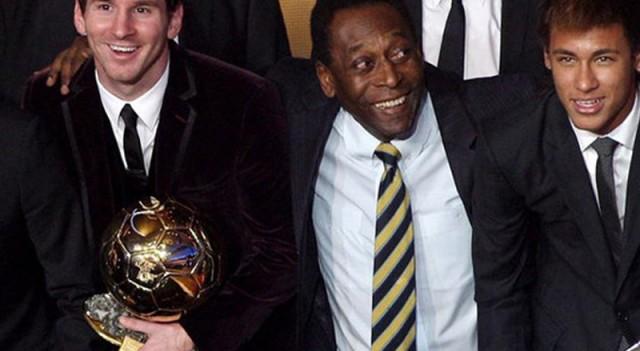 Pele'den Messi yorumu! 'Kahraman...'