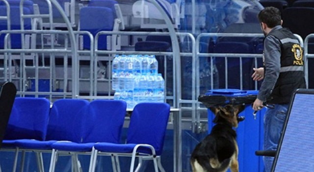 Ülker Arena'da bomba paniği!
