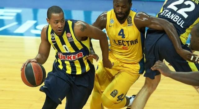 Fenerbahçe Ülker Maccabi'yi dağıttı!