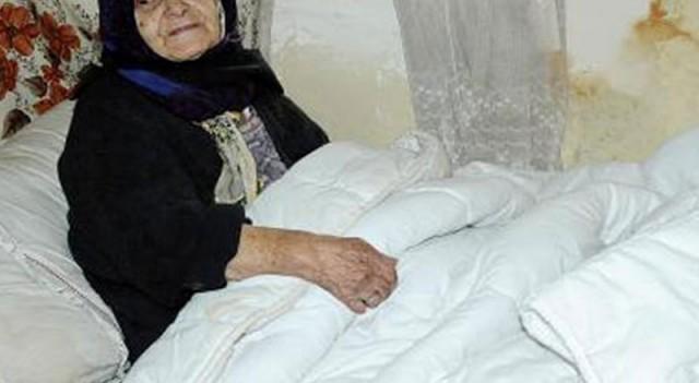 Yaşlı kadın Cumhurbaşkanı'ndan bakın ne istedi