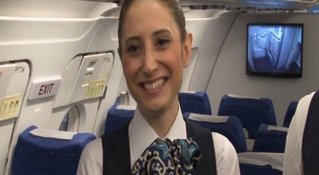 Japonlar Türk hostesi konuşuyor