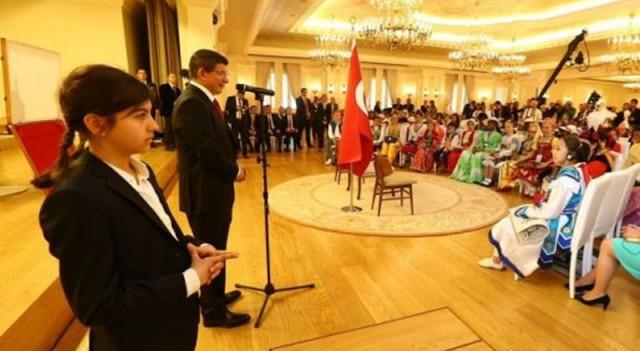 Başbakan Davutoğlu'nun minik koruması