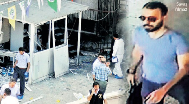 HDP bombacısı DHKP-C'den yattı kameraya yakalandı