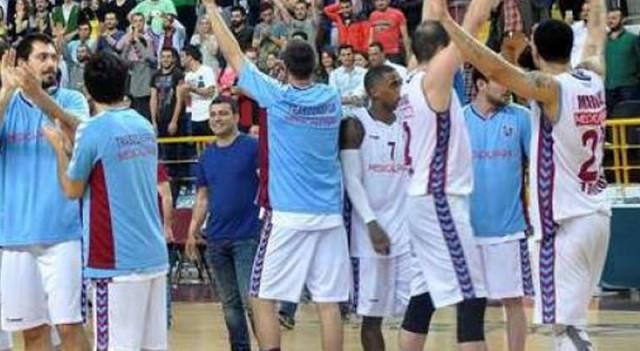 Trabzon yarı finale yükseldi