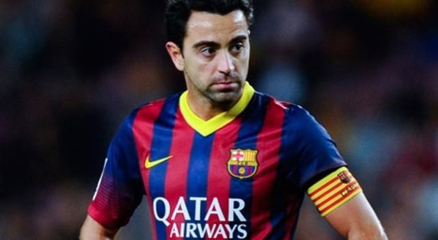 Xavi Barca'ya böyle veda etti!