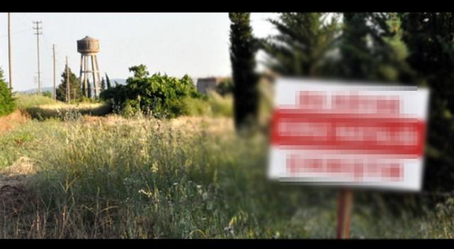 Köyün girişine tabela astılar! 6 ay giriş-çıkış yasak